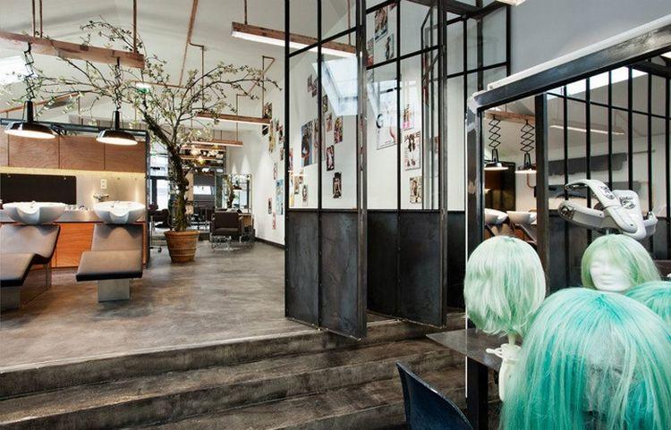 7 idées de décoration pour un salon de coiffure Deco salon, Salons