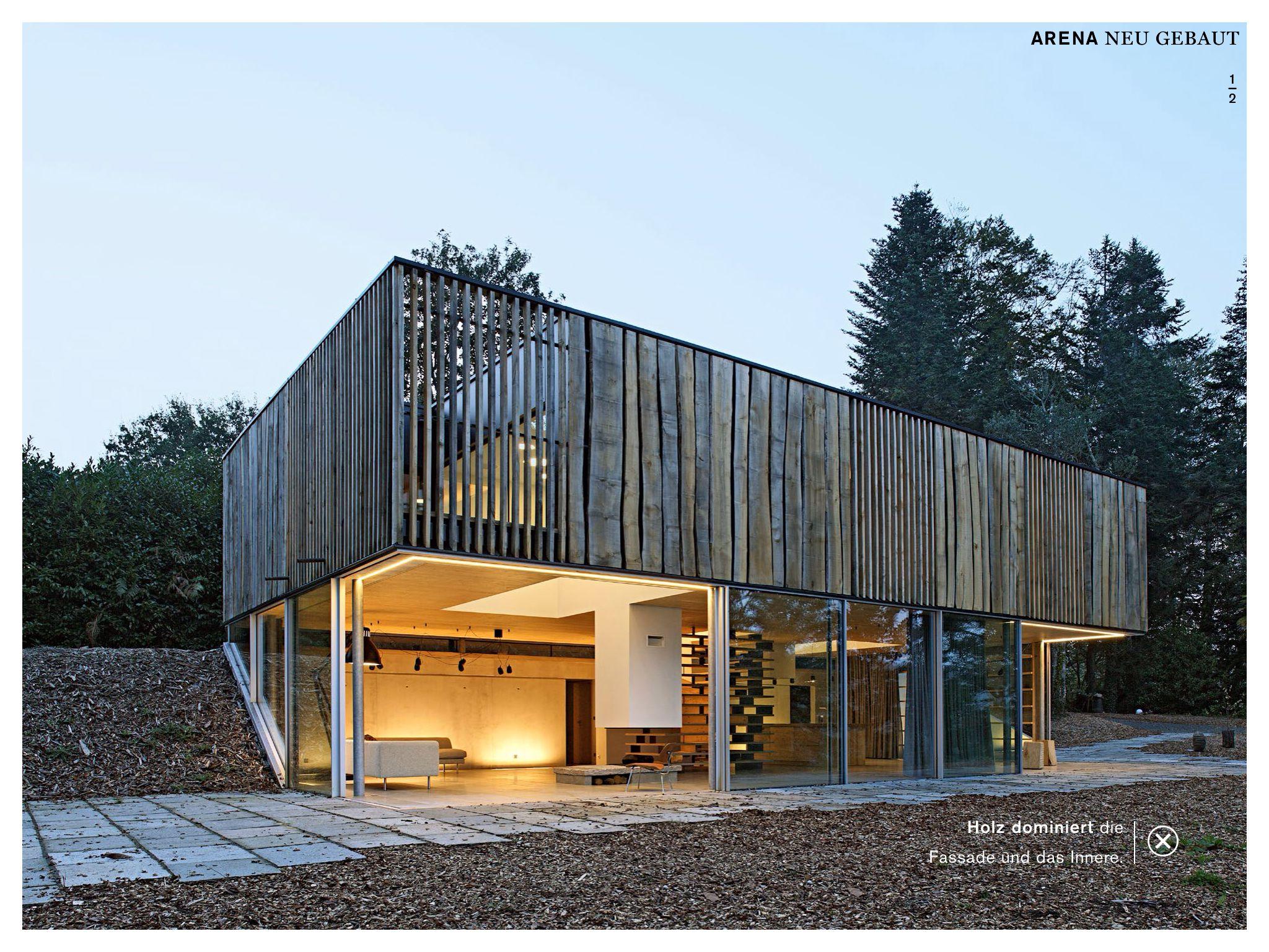 Strandhaus modern  Französchisches Strandhaus in der Bretagne | Holzhäuser ...