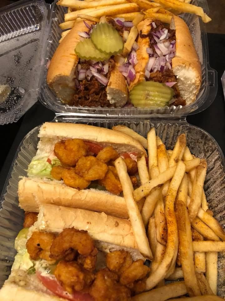Po Boys From Jazz Kitchen Express In Downtown Disney