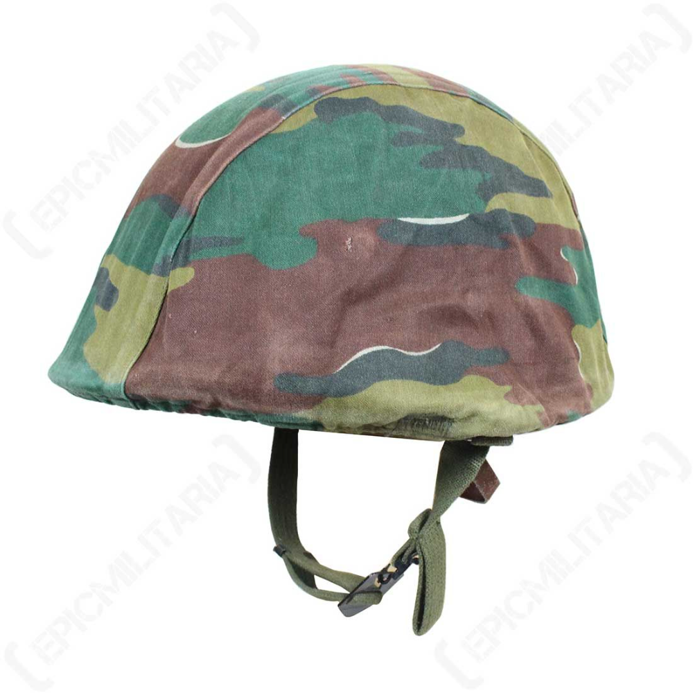 Original Belgian Army Helmet Cover Helmet Covers Army Helmet Army Fashion