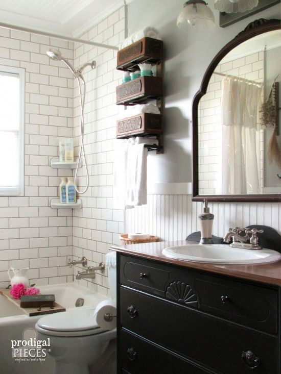 Bathroom Makeovers Greenville Sc farmhouse bathroom remodel reveal | farmhouse style bathrooms