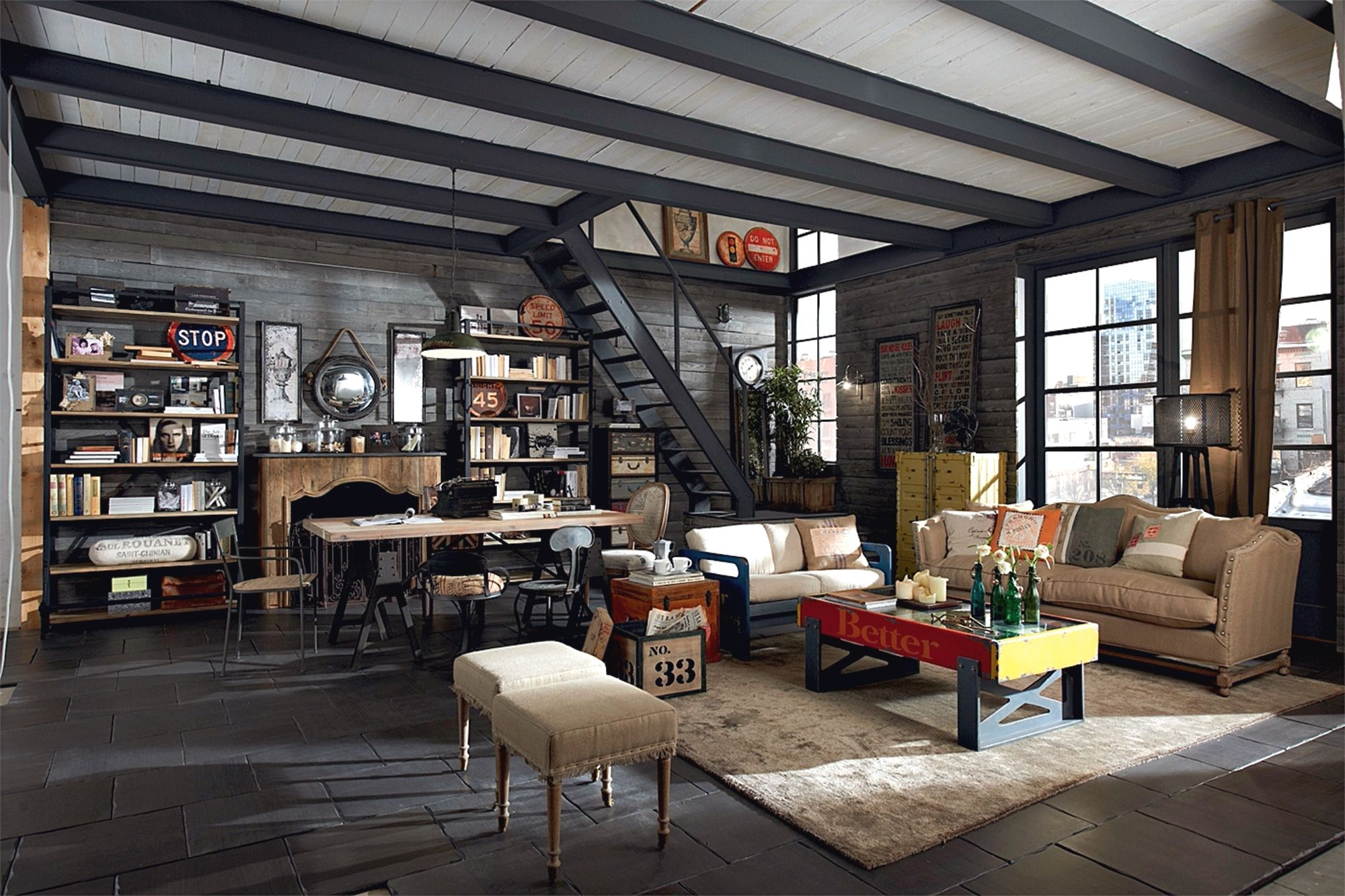 12 Easy Urban Industrial Decor Designs To Complement Your Urban