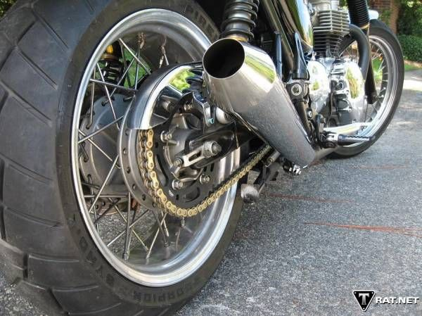 British Customs Wide Rear (and front) Wheel Kit - Triumph Forum: Triumph Rat Motorcycle Forums