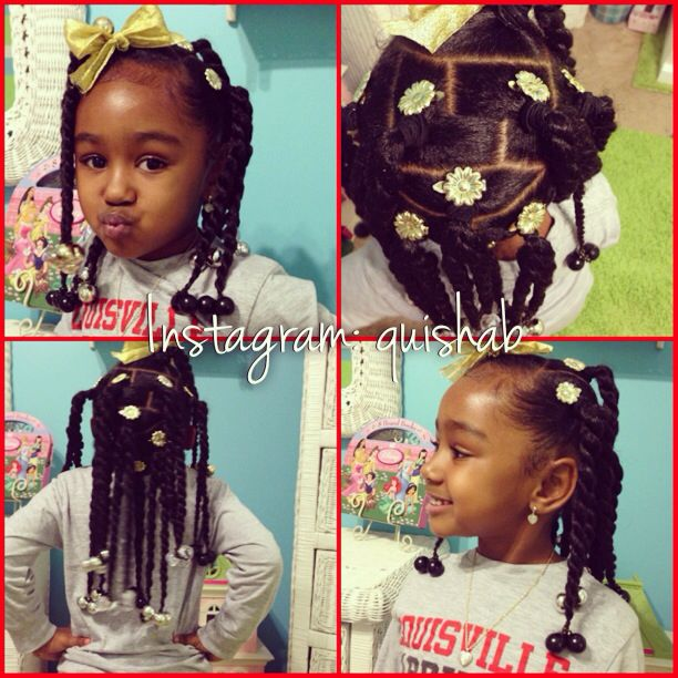 Pin By Aquisha Brown On Kid Hair Styles Hair Styles Toddler Hair Kids Hairstyles