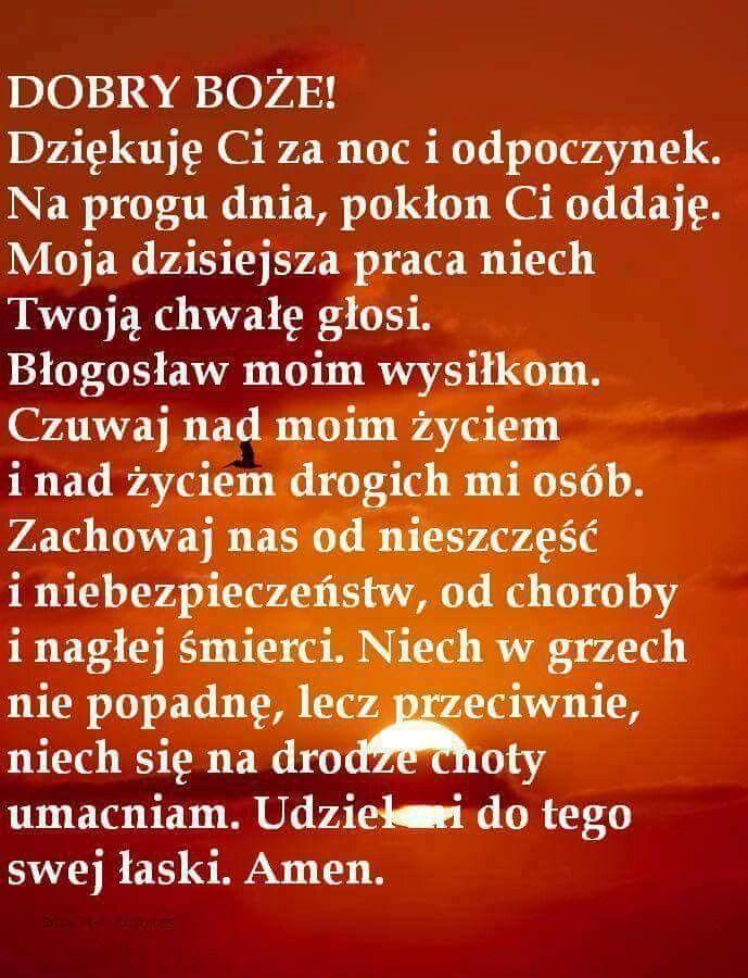 Pin By Jadwiga Herfet On Modlitwa Prayer Quotes Words Prayers