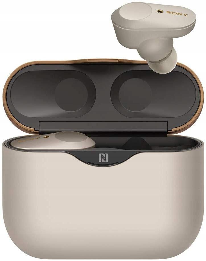 Sluchawki Bezprzewodowe Sony Wf 1000xm3 Srebrne Wireless Noise Cancelling Headphones Noise Cancelling Earbuds Sony Headphones