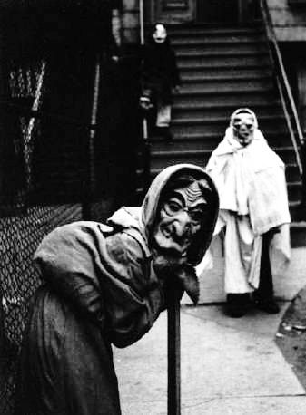 Creepy Halloween costumes c. 1930s-1960s