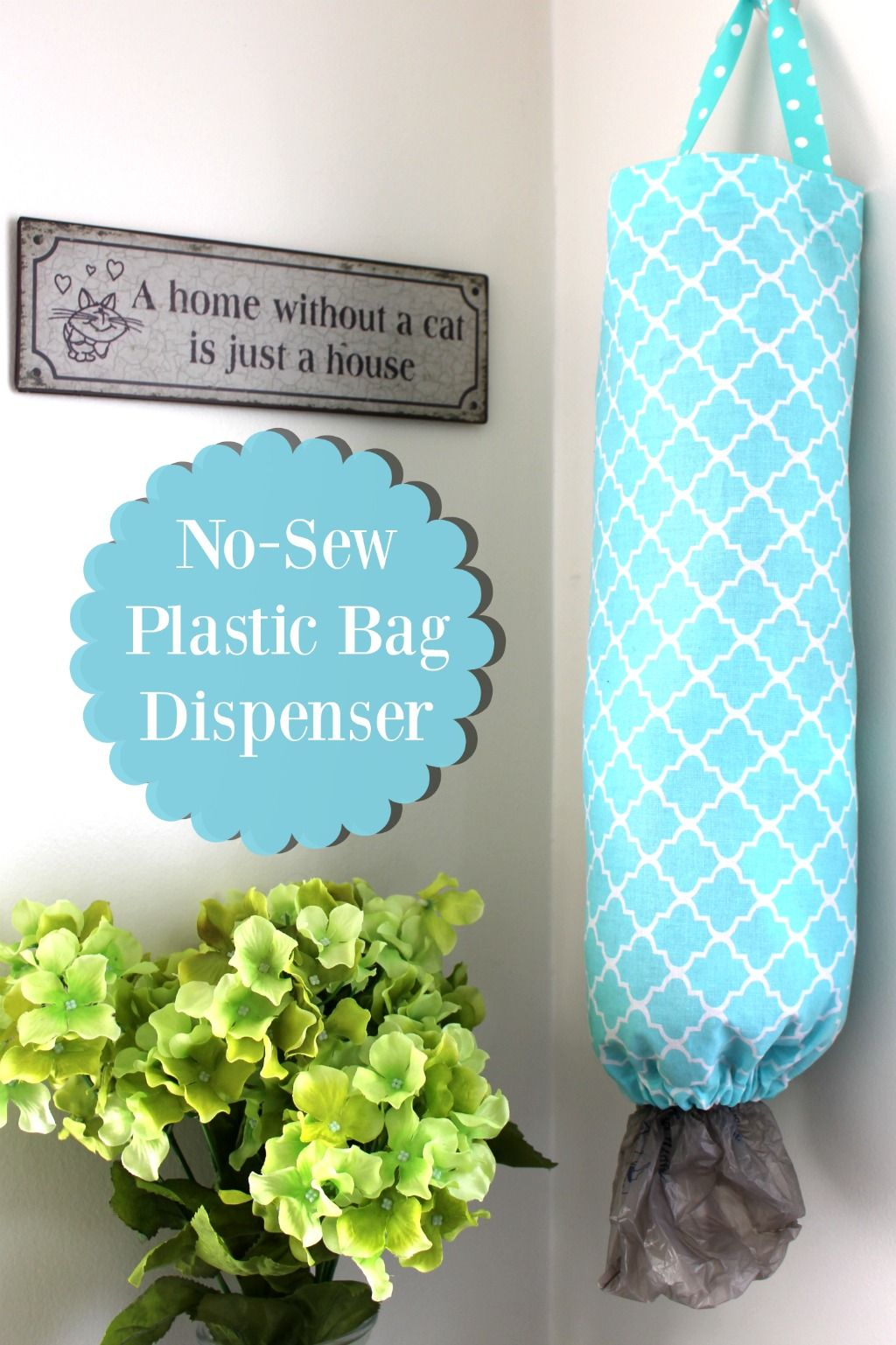Plastic Bag Dispenser and Holder | DIY | Pinterest | Plastic bag ...