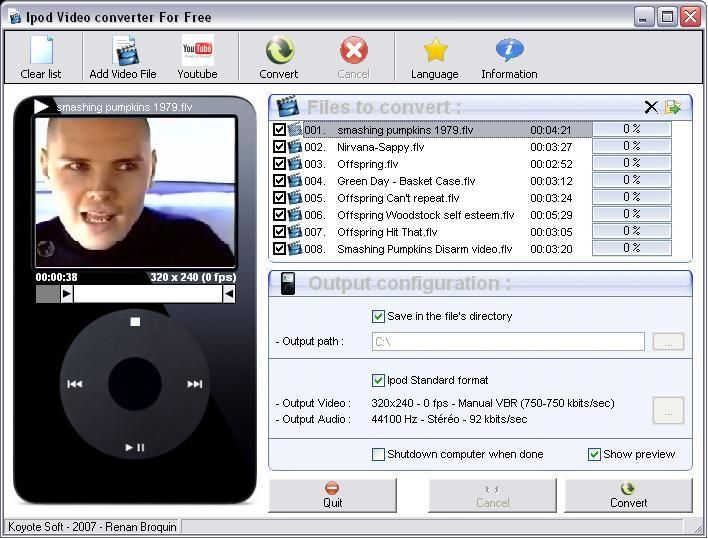With Free iPod video converter you can convert all your videos to - Download Numbers Spreadsheet For Mac