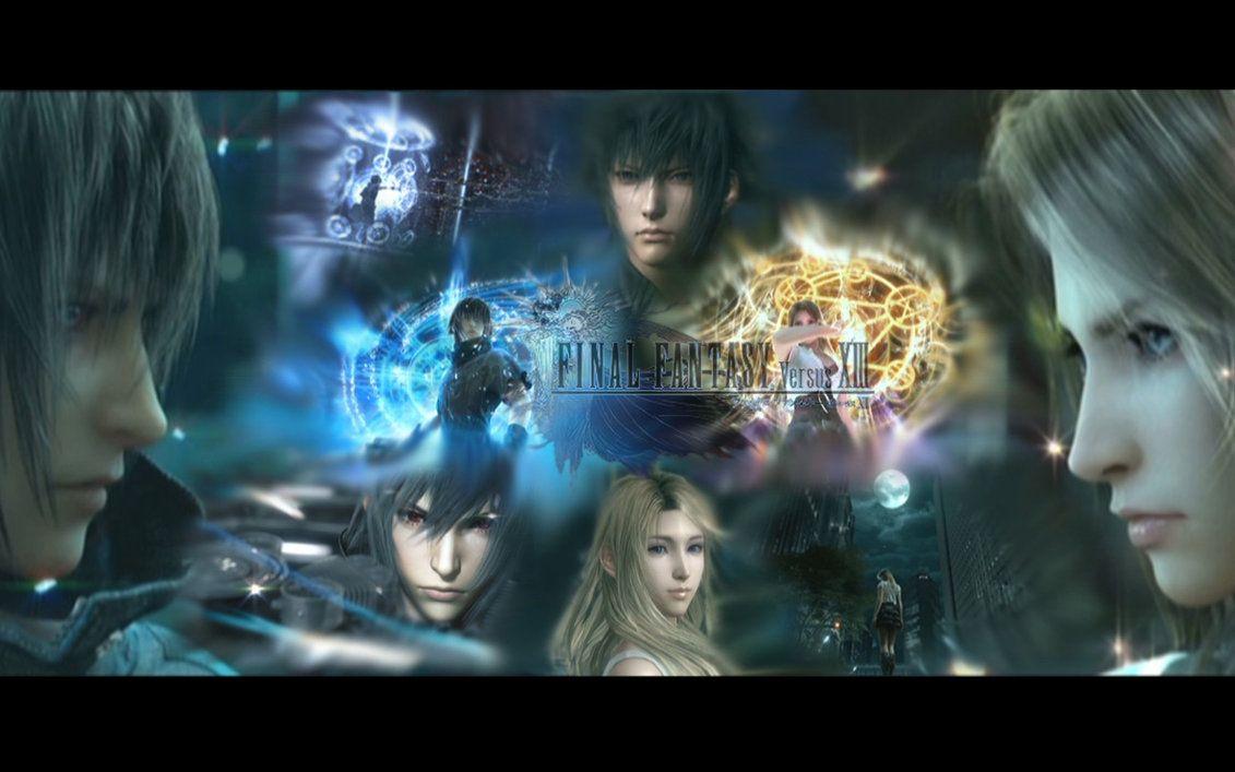 Final Fantasy Xv Final Fantasy Versus Xiii By Xodo111 Deviantart