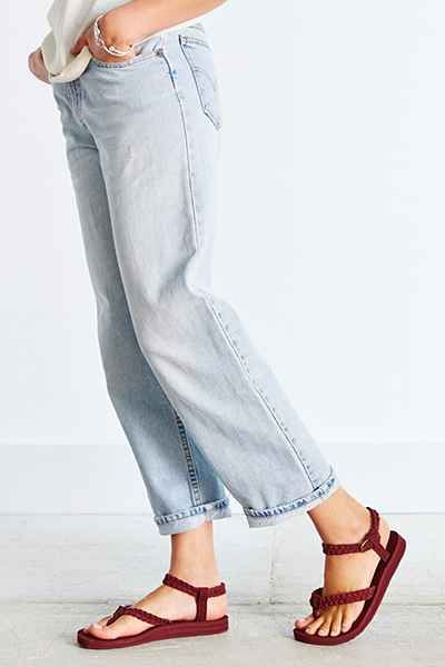 fb2734856a13 Teva Original Suede Braid Sandal - Urban Outfitters