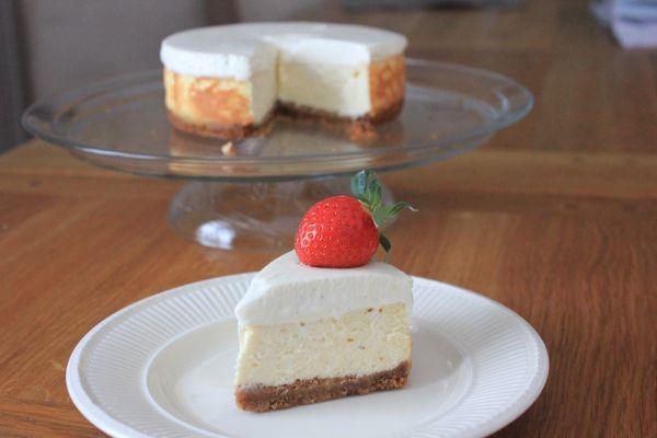 Hei og god fredag! New york cheesecake er en klassisk amerikansk ostekake bakt i ovnen. Dette er...