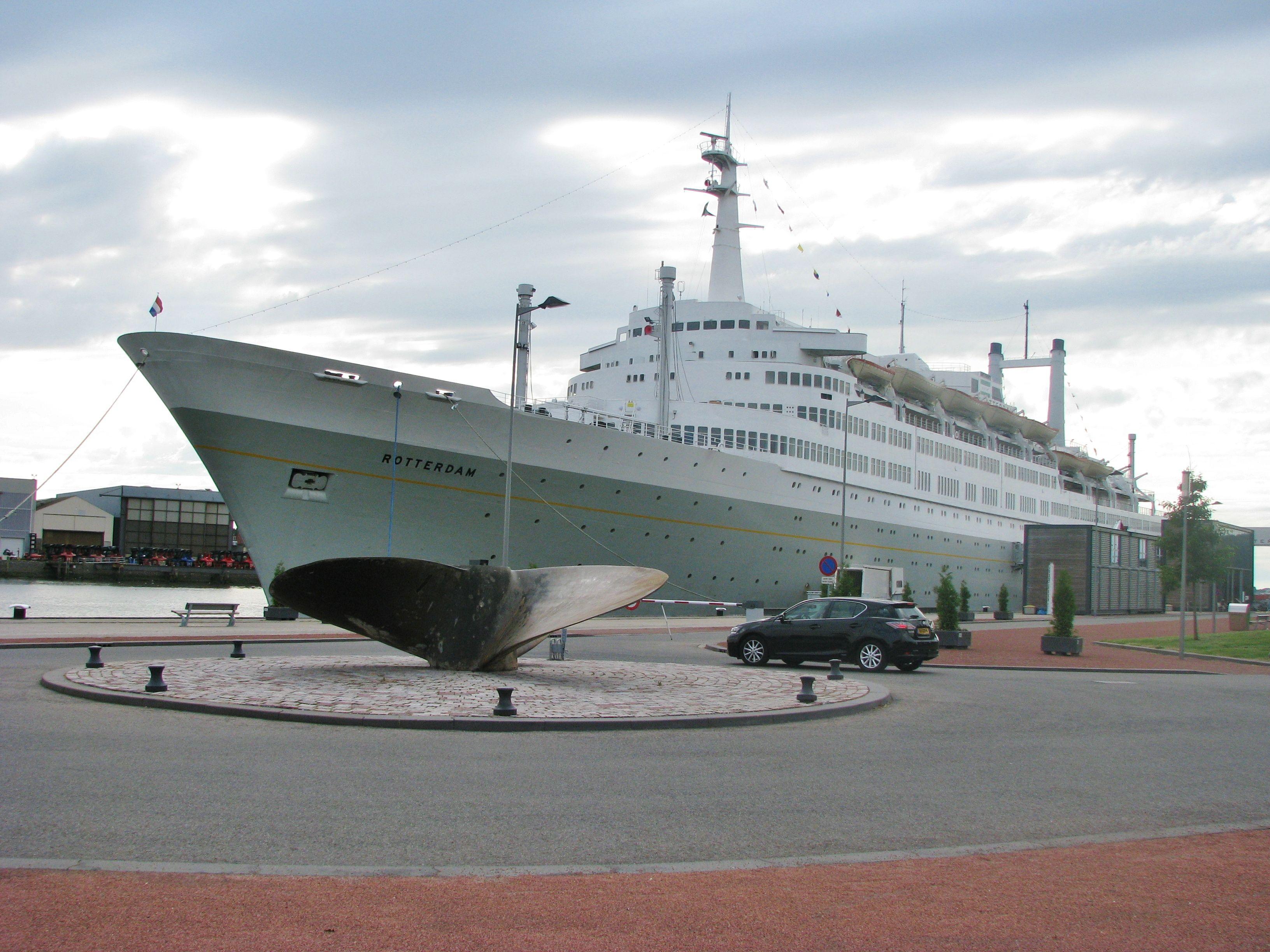 Ms Rotterdam Hotel Ship Port Of