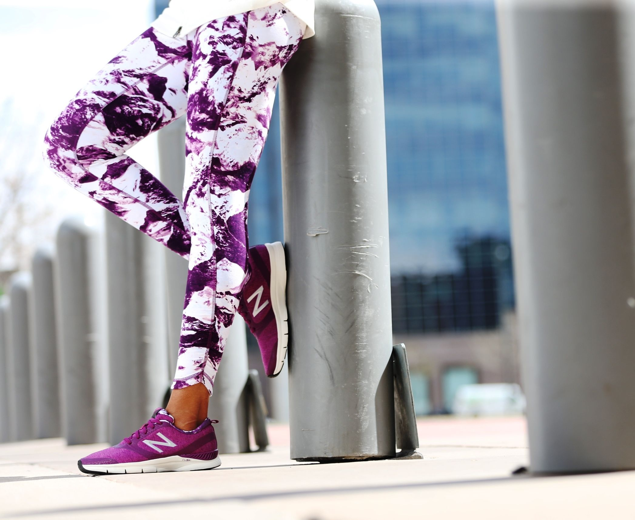 Go bold. Make a statement with Camo. [Featured: New Balance Performance Tight…