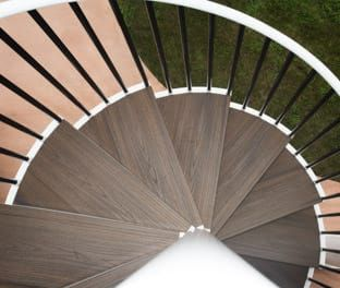 Best Aluminum Spiral Stair Product Options Paragon Stairs 400 x 300