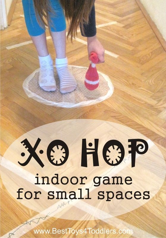 Xo Hop Indoor Game For Small Spaces Sensory Activities For Kids
