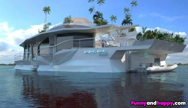 Gorgeous millionaire's yacht | Funny Page | Funny Pictures