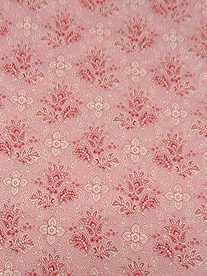 New Arrival! Magenta/Petunia Pink/White Jacobean Paisley Print Cotton/Linen 52W