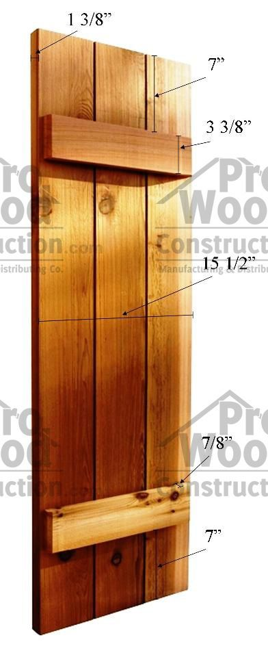 Instructions For Building Shutters. Pinner Said That They Used 5 Inch Cedar  Tongue And Groove Boards From Lowes.