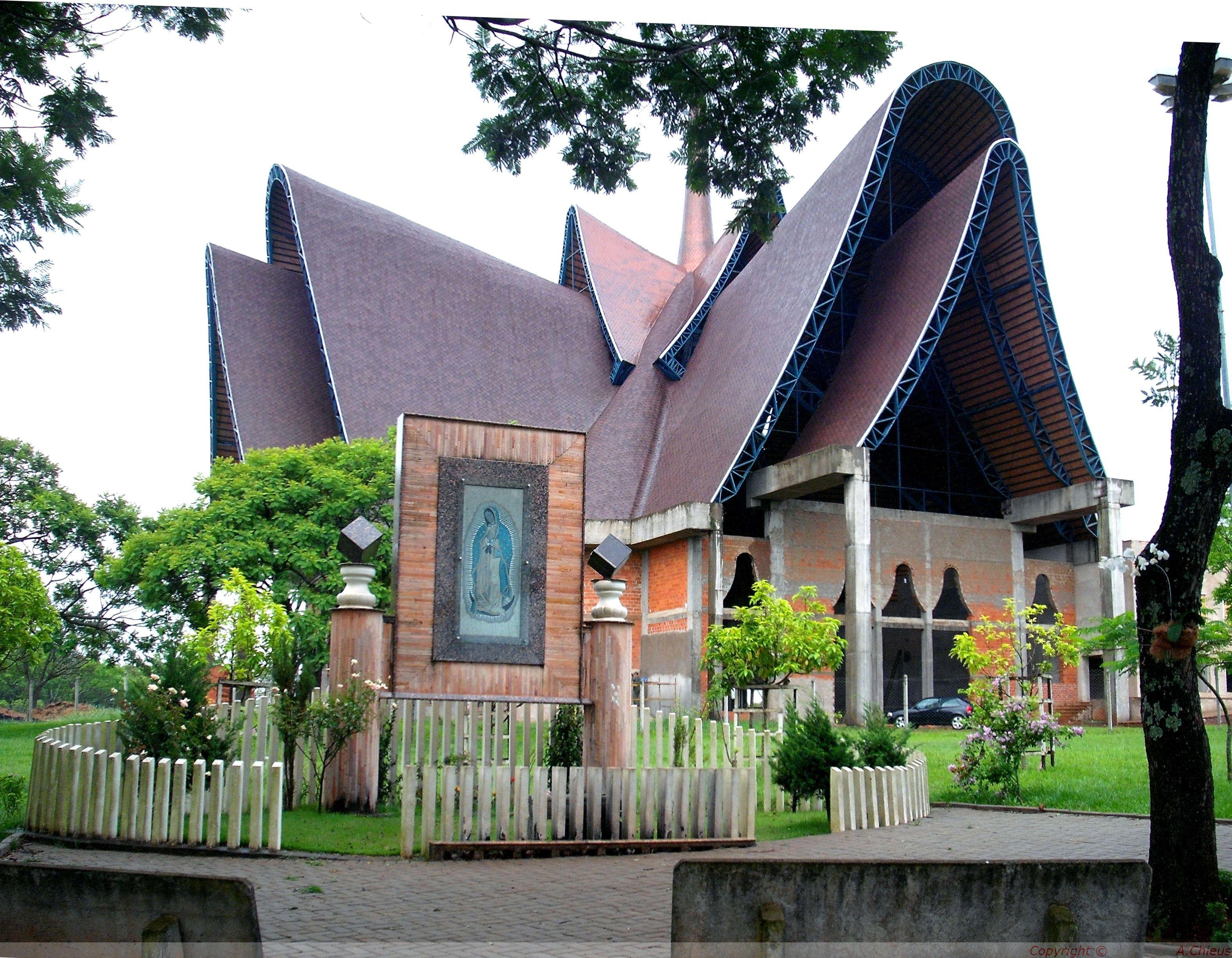 Catedral Nossa Senhora De Guadalupe Foz Do Igua U Pr Igrejas  # Muebles En Foz Do Iguacu
