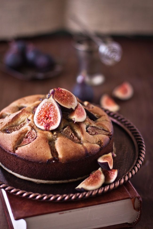 Honeyed Fig Cake@Christine Landerholm okay Sis I am pinning this to you to make for me... doesn't this sound good???!!