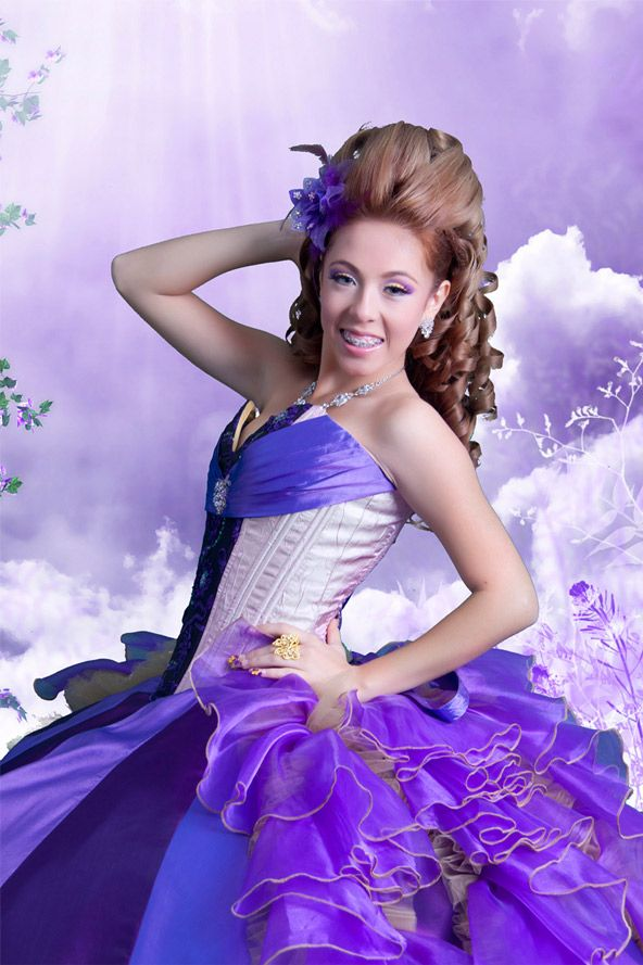 hair ideas for quinces | Quinceanera Hairstyles | Belen's ...