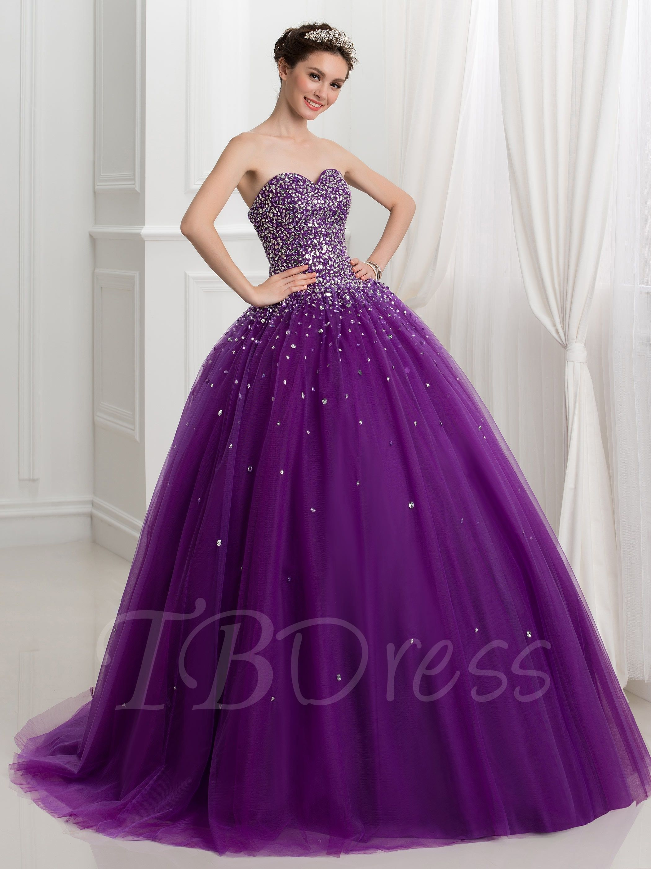 b068e886ed2 Tbdress.com offers high quality Sweetheart Ball Gown Beading Sequins Lace-Up  Quinceanera Dress Ball Gowns unit price of   201.99.