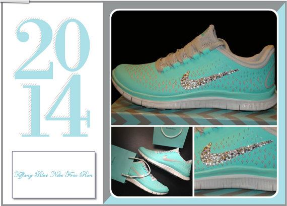 4a52d5d47617 USASALE Women Tiffany Blue Running Shoes by DesignsByFrancois ...