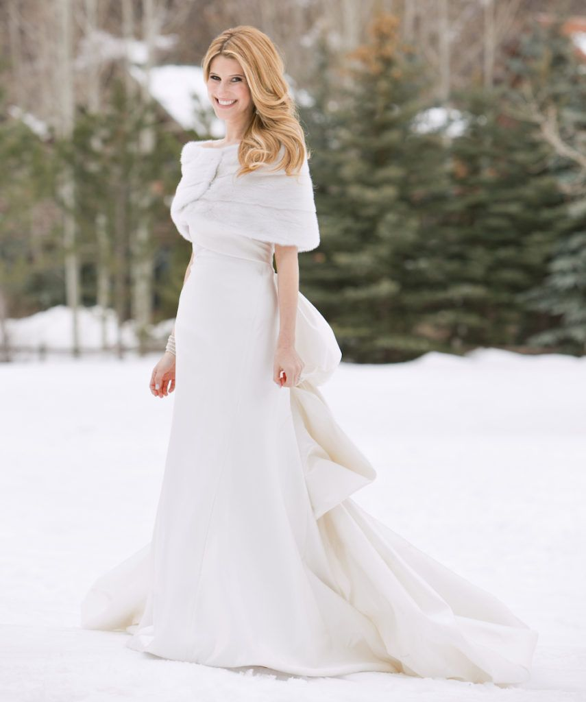 Wedding winter dresses forecasting to wear in spring in 2019