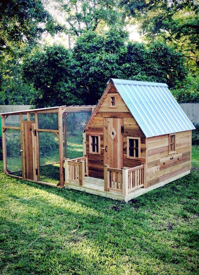 6x8 Cottage Coop W Porch And 8x8 Run By Texas Cedar Shop Bradscedarshop Com Facebook Texas Cedar Shop Chicken Coop Run Chicken Coop Designs Diy Chicken Coop