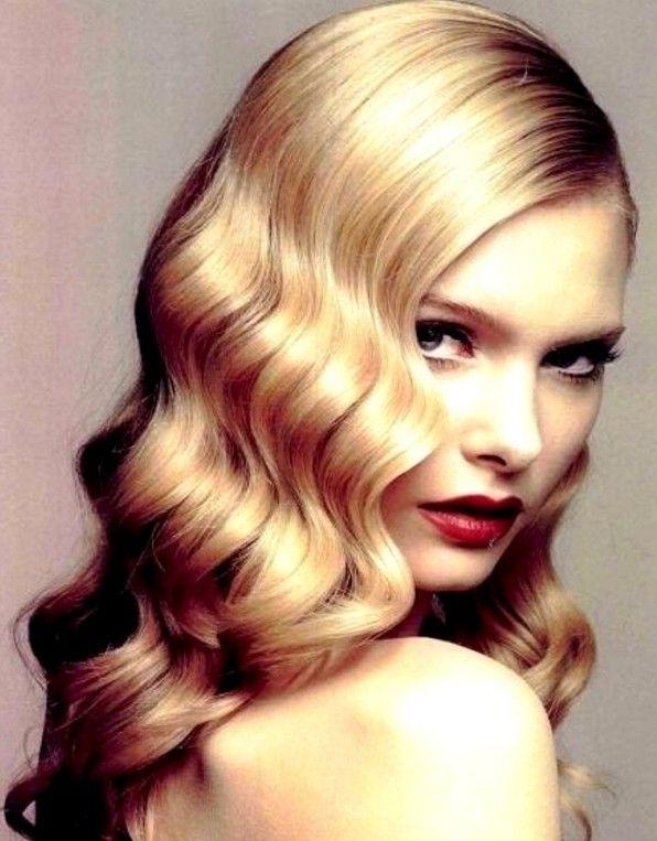 Vak Dalgasi Sac Stilleri Hair Styles Long Hair Styles Vintage Curls