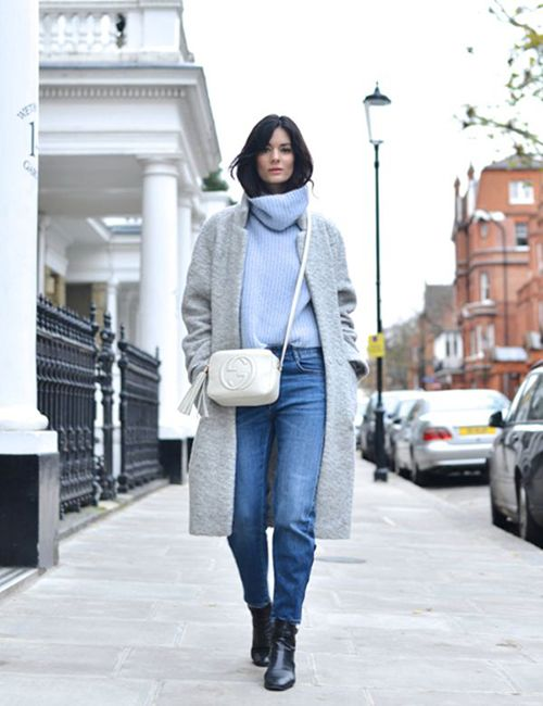 street style | Style | Pinterest | Sweater fashion, Baby blue and ...