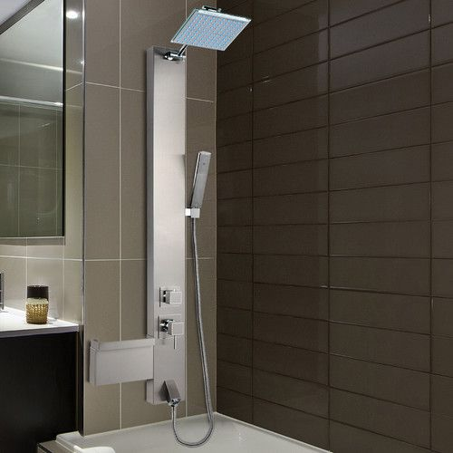 Found it at Wayfair - Rainfall Shower Panel Tower Diverter ...