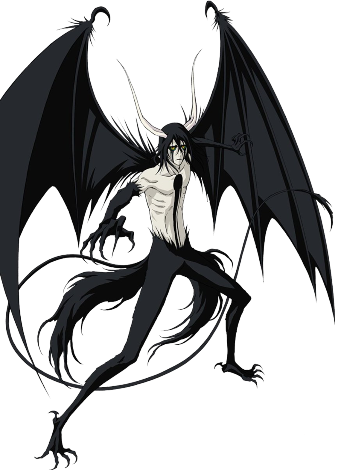 Ulquiorra Cifer Ressurreccion Bleach Anime Bleach Characters Bleach Manga