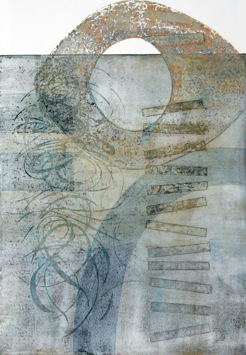 Altruistic Aspirations by Anne Moore monotype
