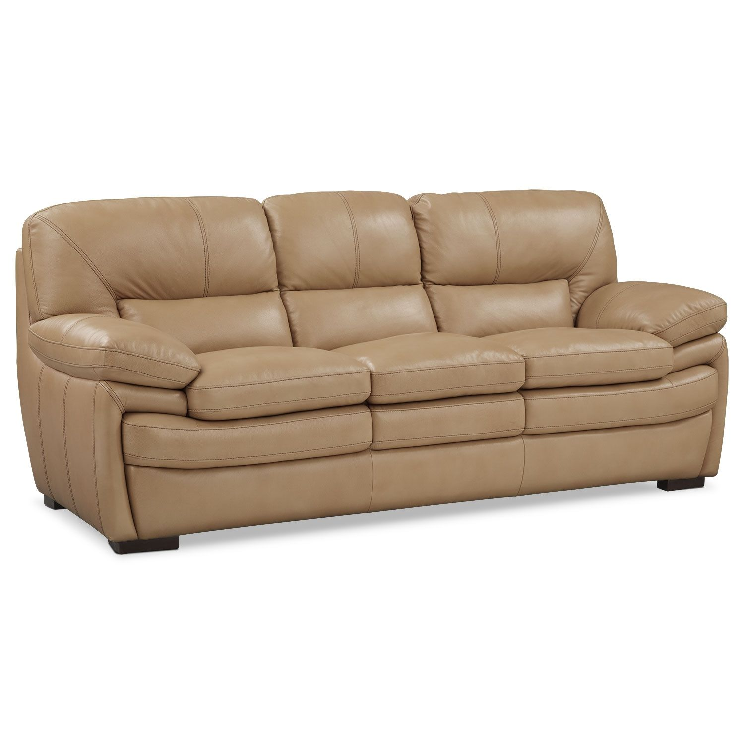 American Signature Furniture Com: Living Room Furniture - Peyton Taupe Sofa
