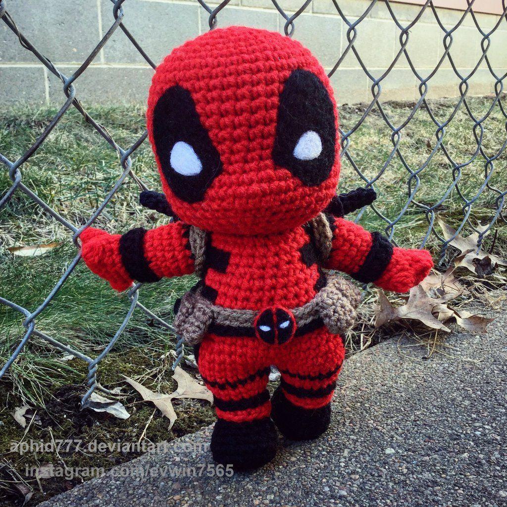 Deadpool by aphid777.deviantart.com on @DeviantArt   ♥ Amigurumi ...