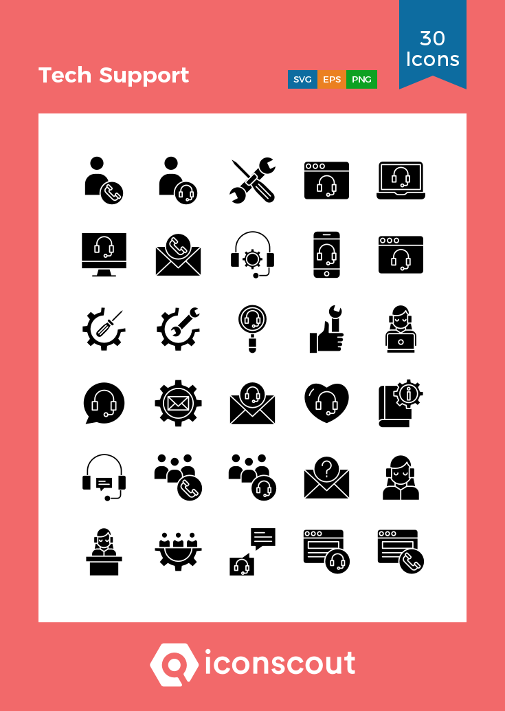 Download Tech Support Icon Pack Available In Svg Png Eps Ai Icon Fonts Support Icon Icon Pack Icon Font