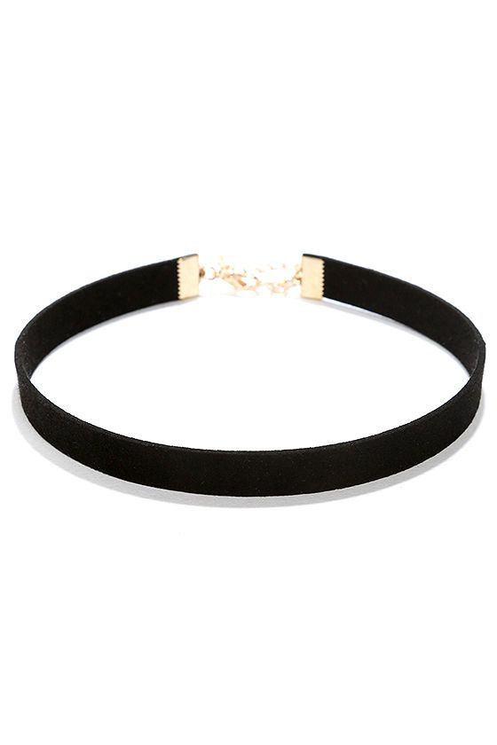 4731bbe2c0ca9 Love Connection Black Suede Choker | accesorize | Chokers, Black ...