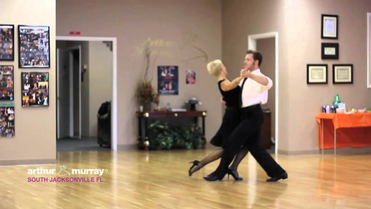 Arthur Murray South Jacksonville Fl dance instructors demonstrate the Tango