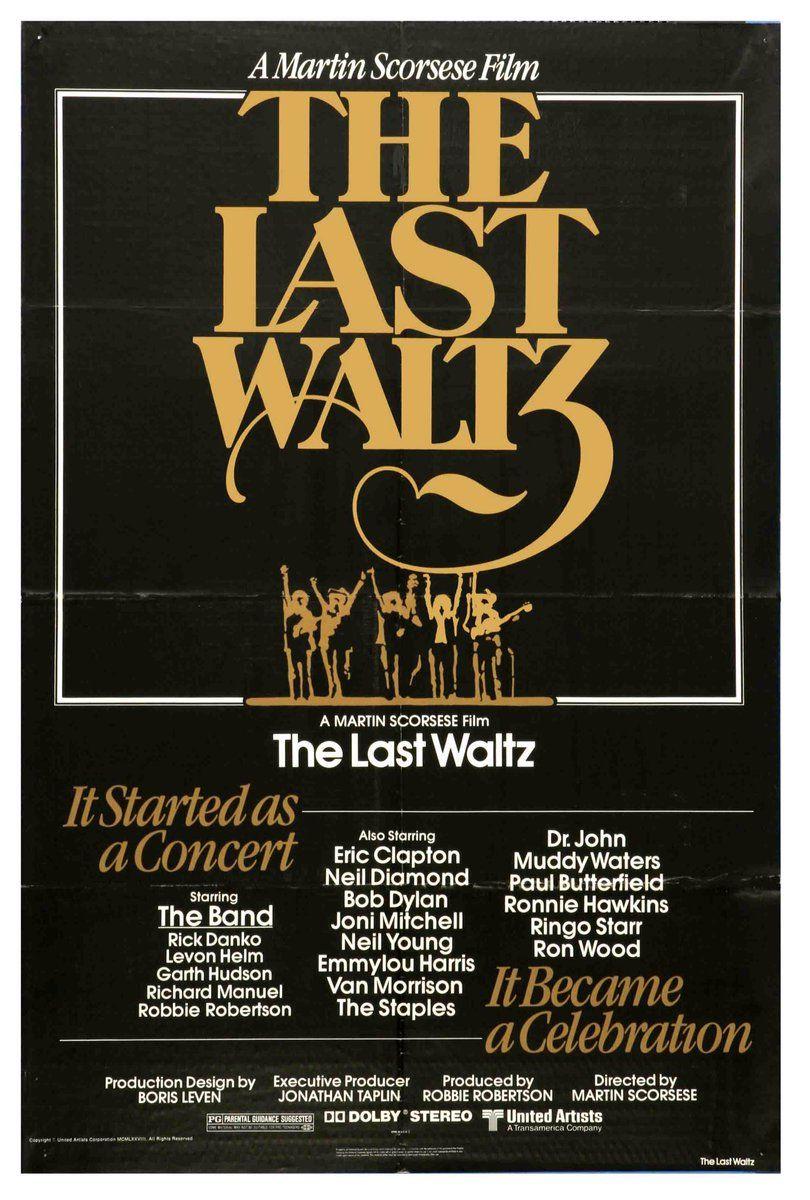 Julie Bakopoulou on The last waltz, Martin scorsese, Bob