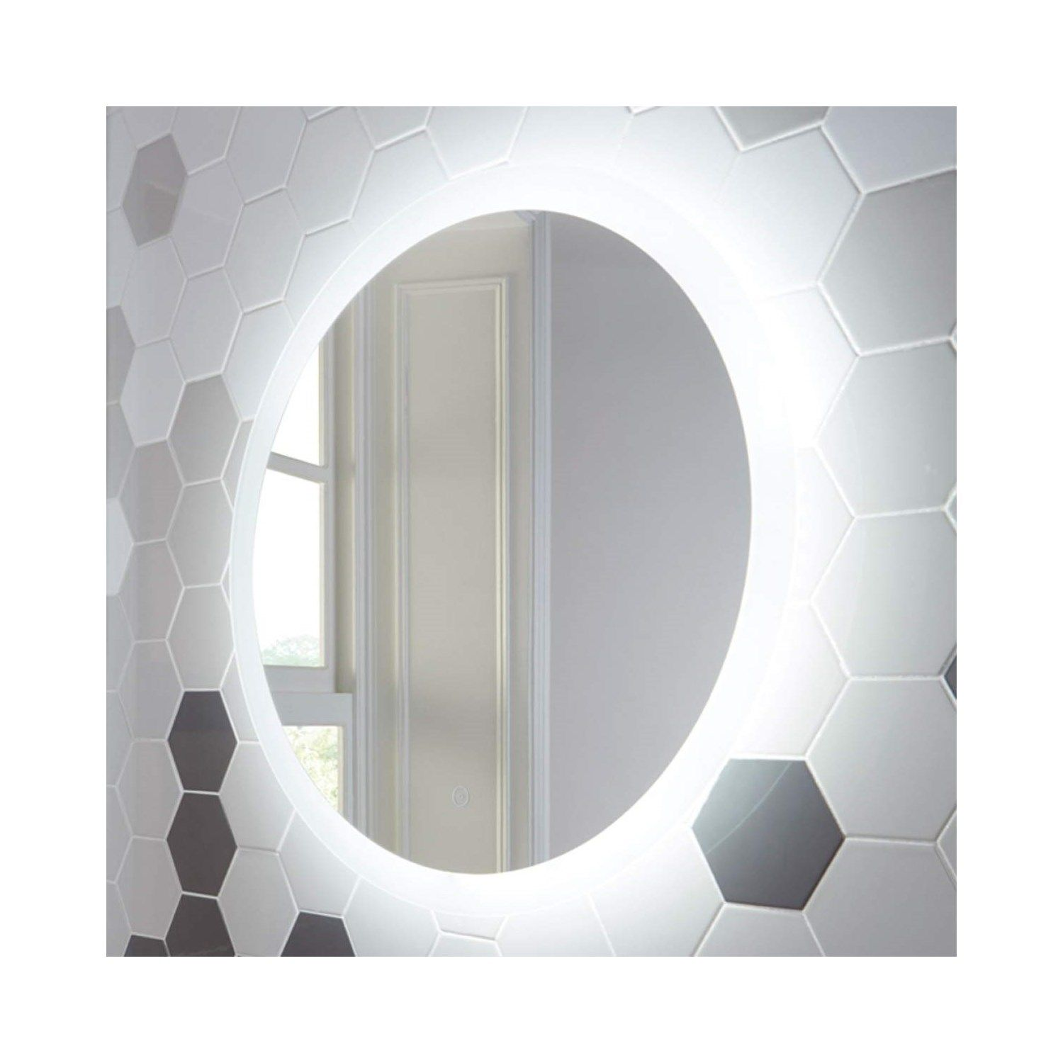 Round Led Bathroom Mirror 800mm