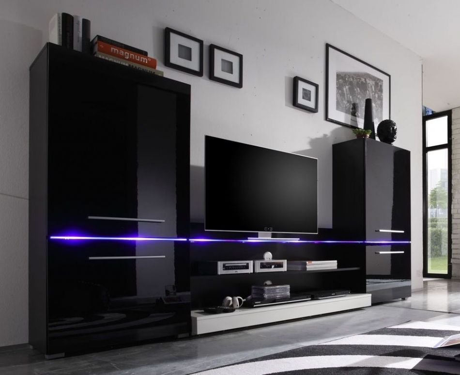 Wohnwande Modern Set : Attraktiv wohnwand modern art wohnzimmermöbel pinterest