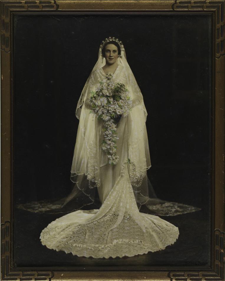 Ada Henrietta Blakeley On Her Wedding Day, Australia 12