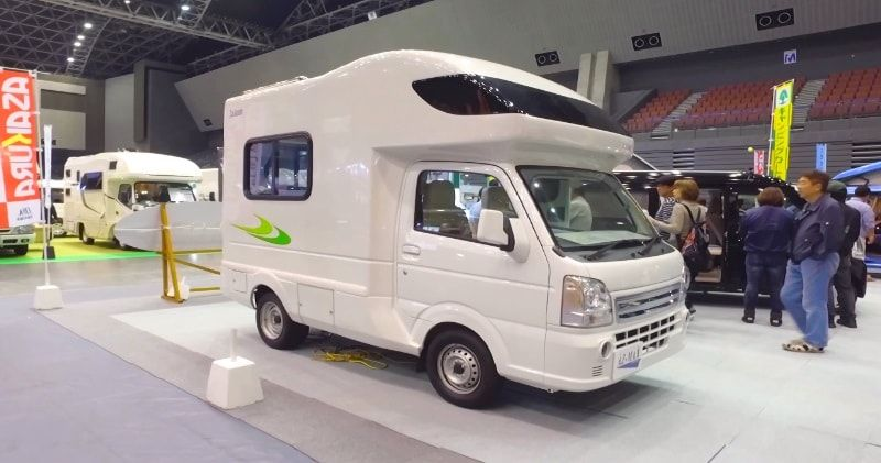 Amazing Micro Camper Motorhome That Allows Sleeping Room For Up To
