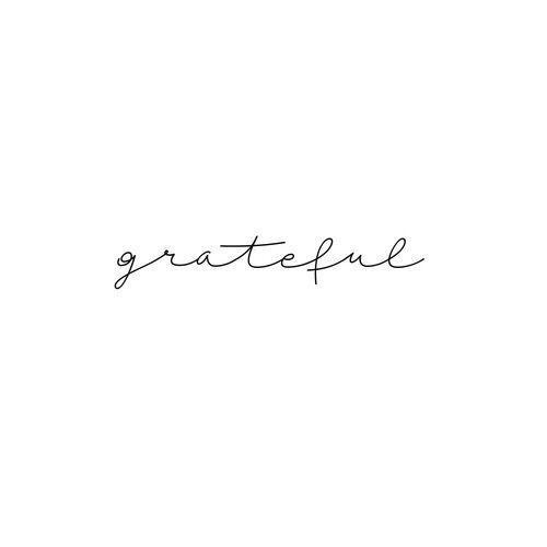 Be grateful m y m i n d pinterest tattoo ideen for Innenarchitektur zitat