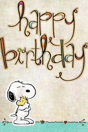 Pin By Nancy Lach On Birthday Cards Pinterest Snoopy Birthdays