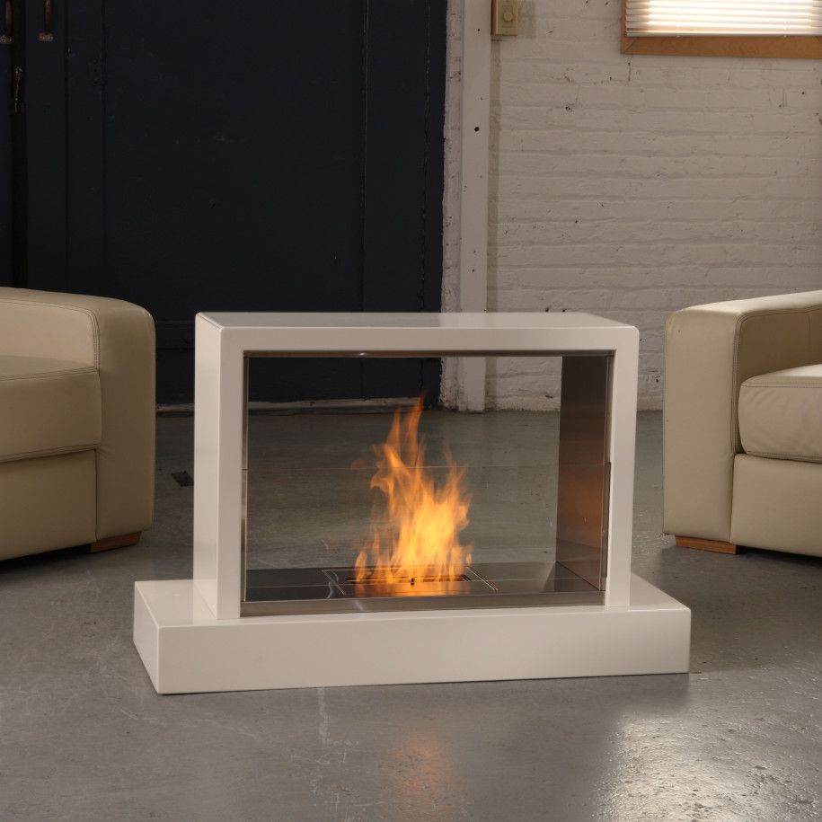 Outdoor Fireplace Electric Portable Fireplace For Modern Sense House Square Shape Fireplace