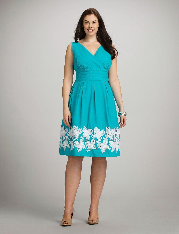 880f5a0d6 Hermosos vestidos de moda para mujeres gorditas