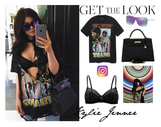 """Kylie Jenner Instagram August.26.2016"" by valenlss ❤ liked on Polyvore featuring Hermès"